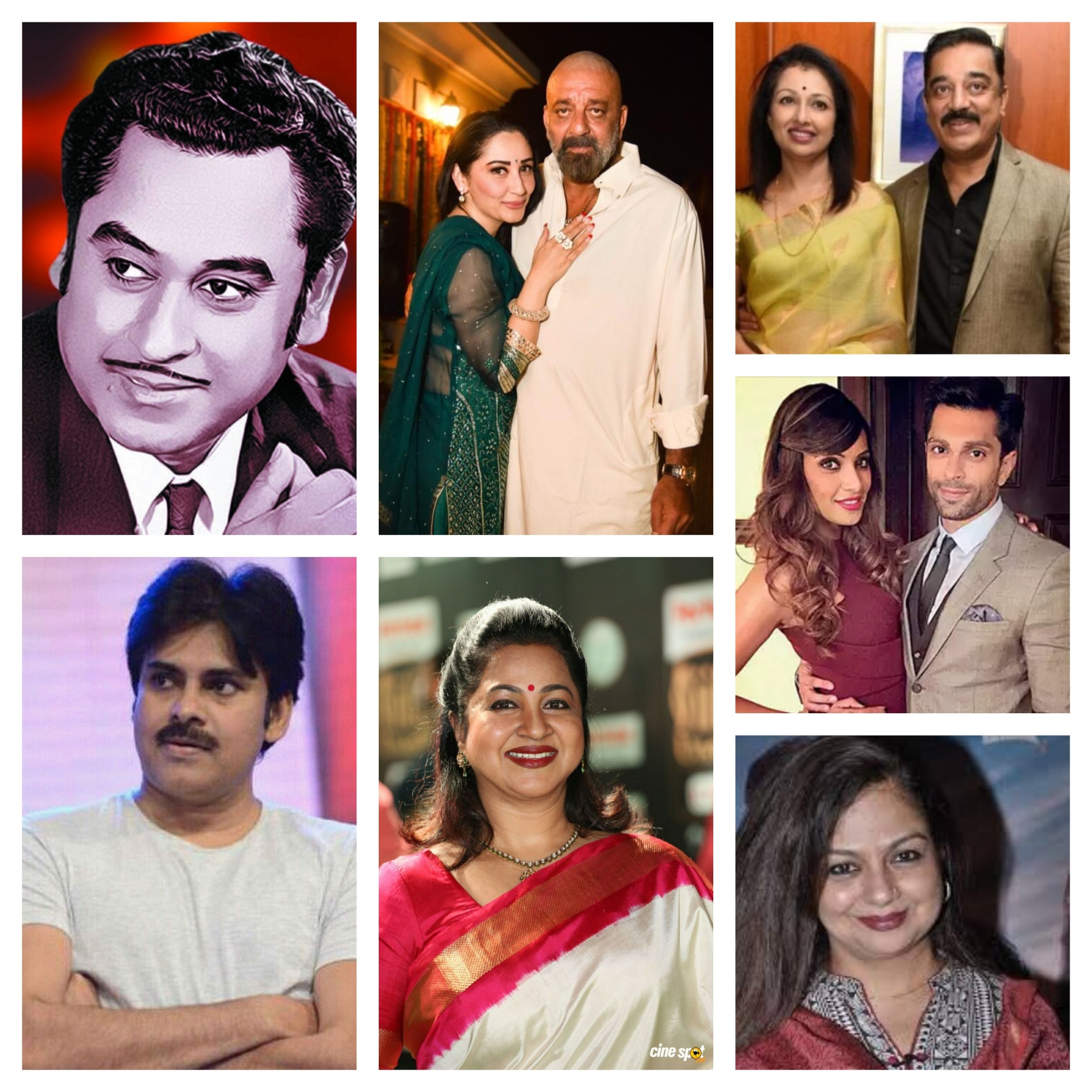 7 Top Indian Film Actors with most Marriages and Divorces